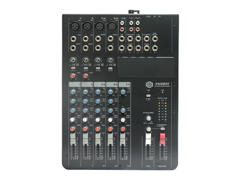 Pult mixážny SHOW XMG-82C
