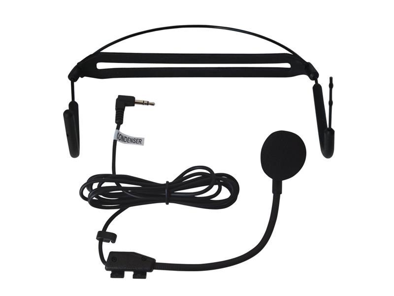Mikrofon HM-28L náhlavníí kondenzátorový