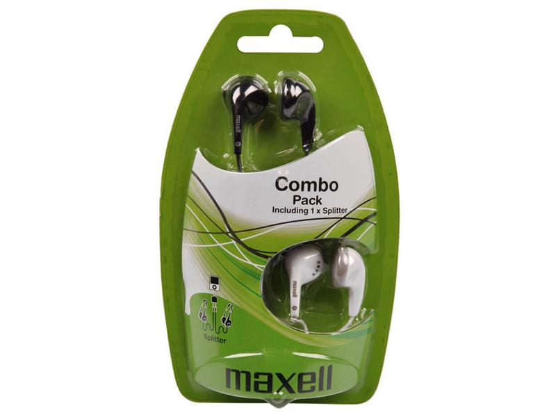 Slúchadlá Maxell 303457 Combo Pack EBC2