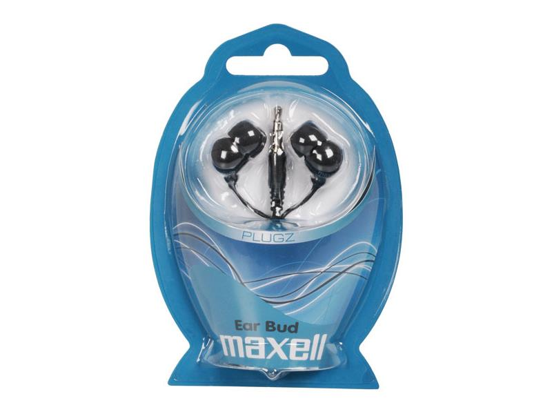 Slúchadlá Maxell 303459 PLUGZ BLACK