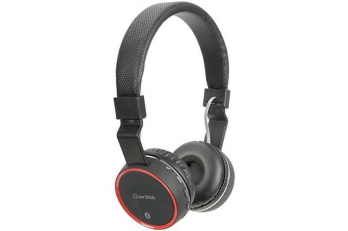 Sluchátka PBH-10, Bluetooth, SD, bezdrátová, černá