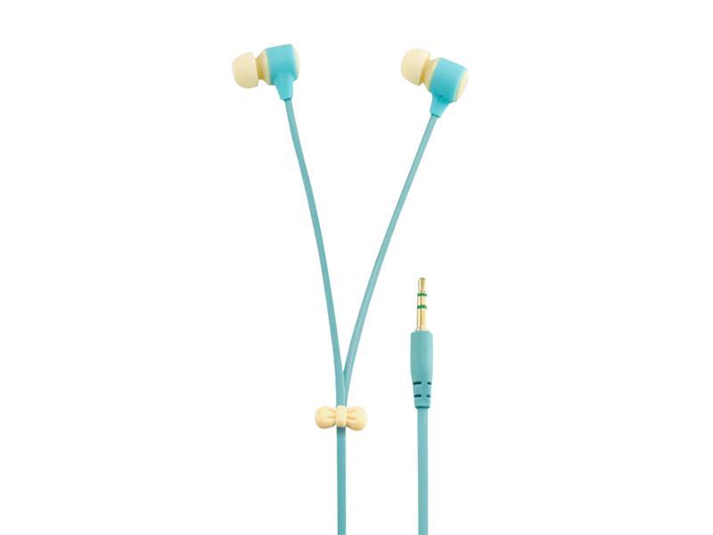 Sluchátka do uší silikonová Macarone béžová