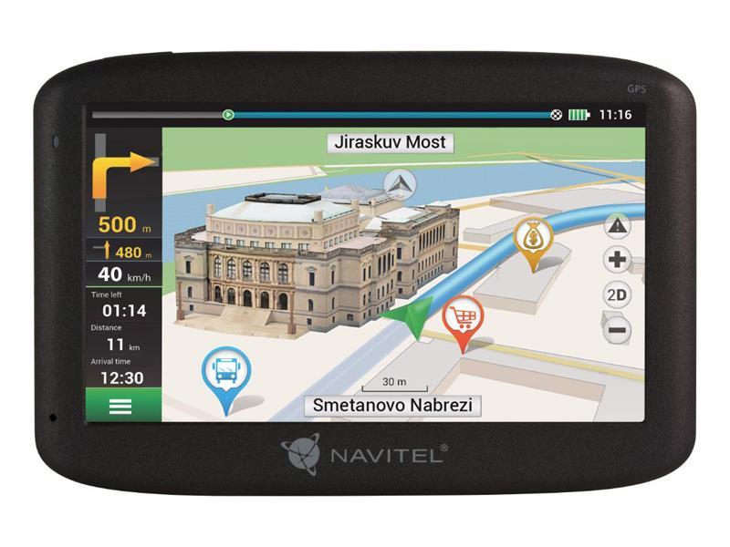 GPS navigácia NAVITEL MS400