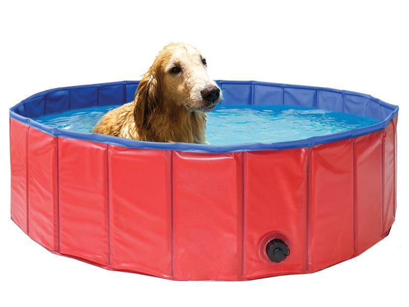 Bazén pre psov MARIMEX skladacie 120 cm