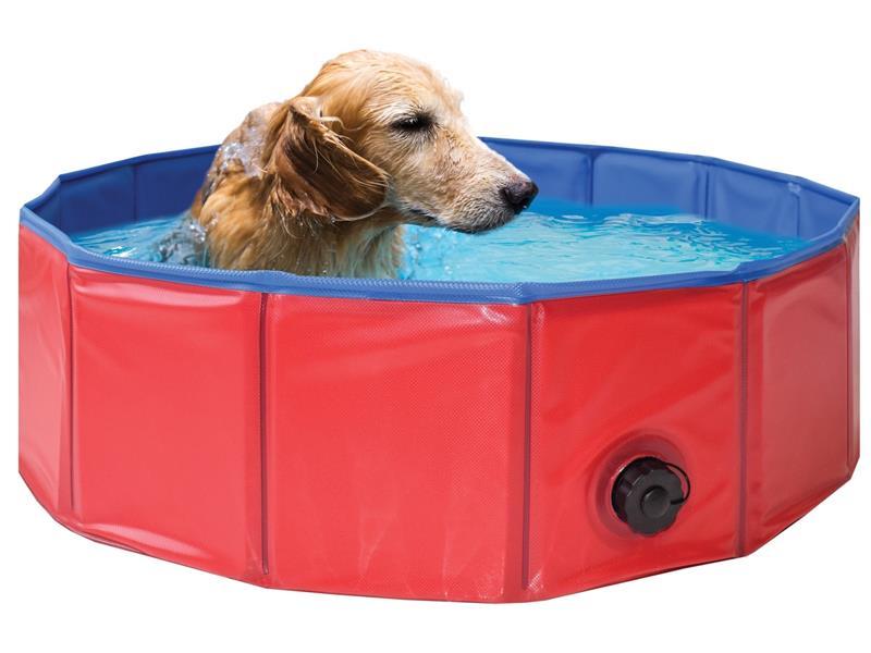 Bazén pre psov MARIMEX skladacie 80 cm