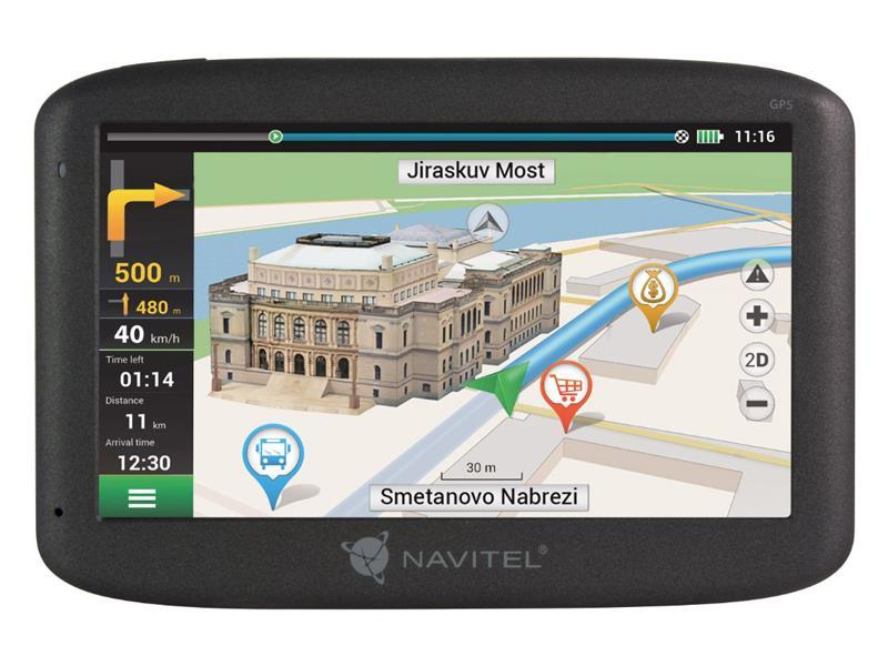 GPS navigácia NAVITEL F300