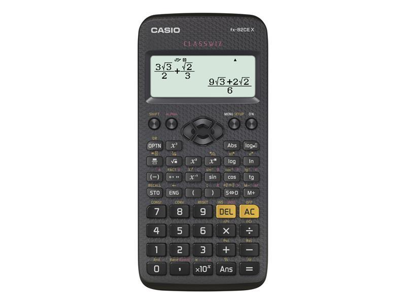 Kalkulátor školní FX 82 CE X CASIO
