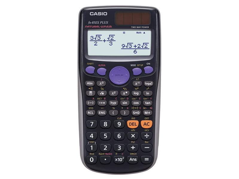 Kalkulátor školní FX 85 ES PLUS CASIO