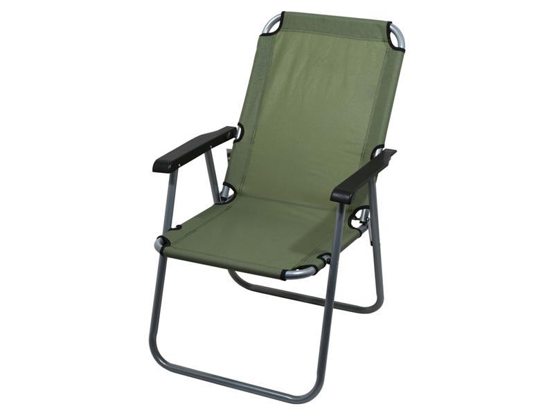 Stolička kempingová CATTARA 13459 LYON tmavo zelená
