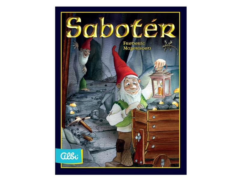 Hra karetní Albi Sabotér