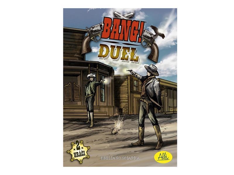 Hra karetní Albi Bang! Duel