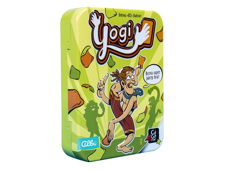 Hra karetní Albi Yogi