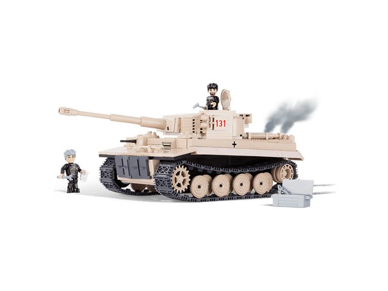 Stavebnice tank II WW Tiger č. 131, 500 k, 3 f