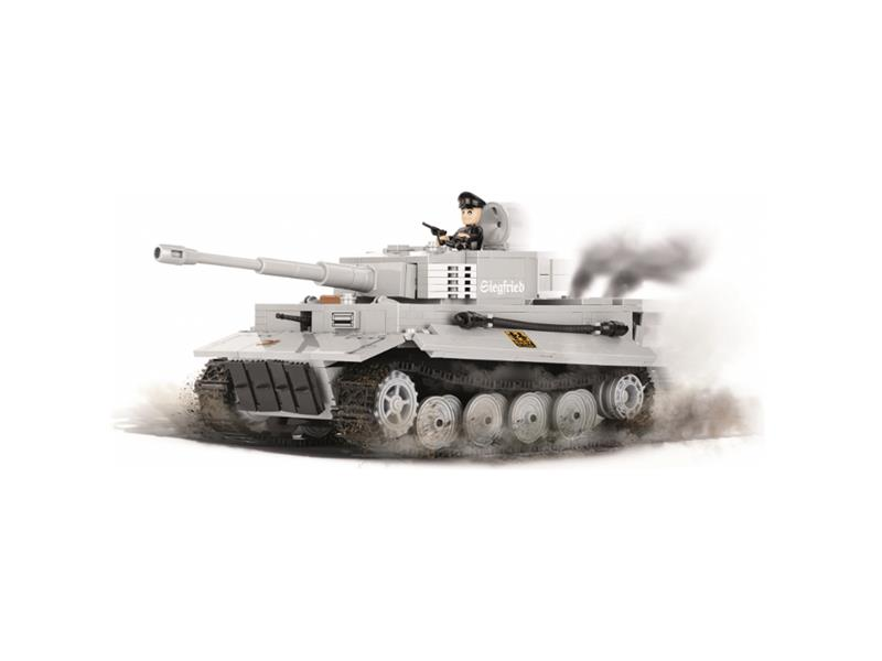 Stavebnice World of Tanks Tiger I 540 k, 1 f