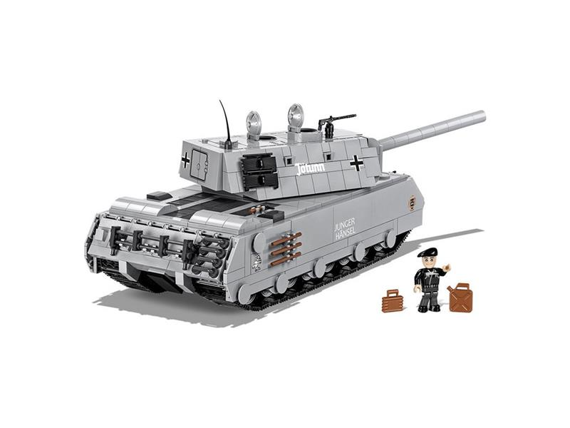 Stavebnice Cobi 3032 World of Tanks Mauerbrecher, 875 k, 1 f