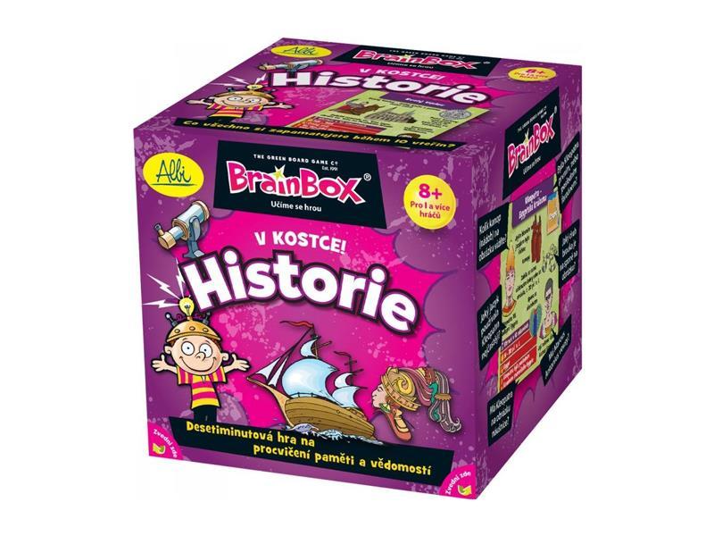 Stolná hra ALBI V kocke! História