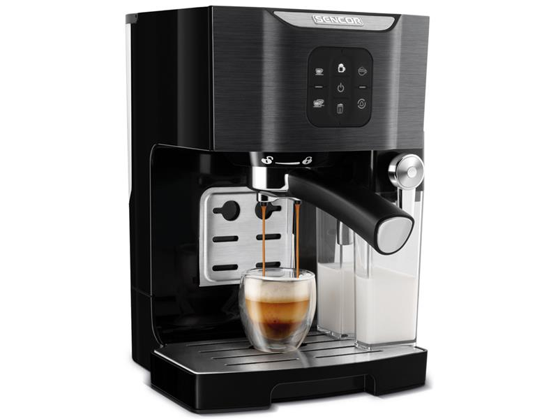 Espresso SENCOR SES 4040BK poloautomatické