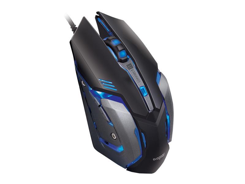 Myš CONNECT IT EVOGEAR profesionální optická herní myš se softwarem CMO-4510-BK