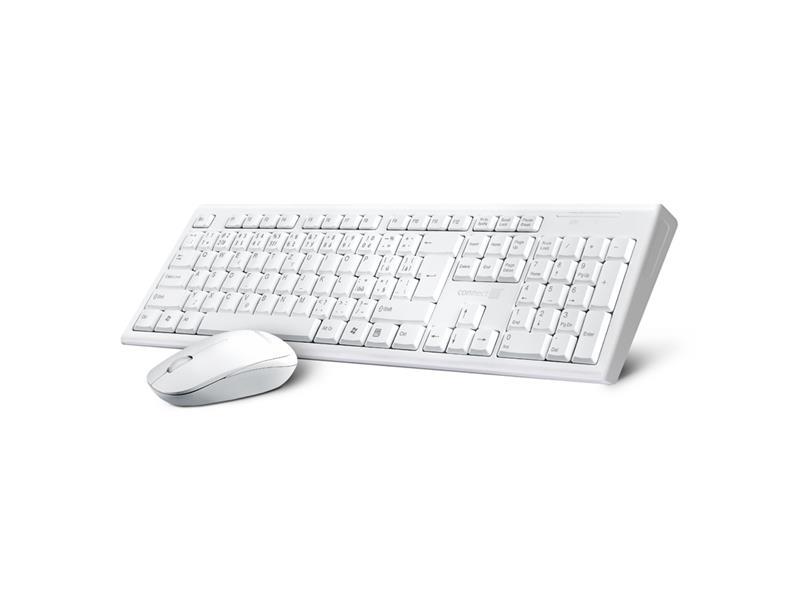 Set klávesnice a myši CONNECT IT CI-1118 bezdrôtová biela CZ+SK layout
