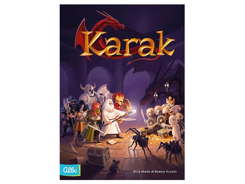 Hra stolní Albi Karak