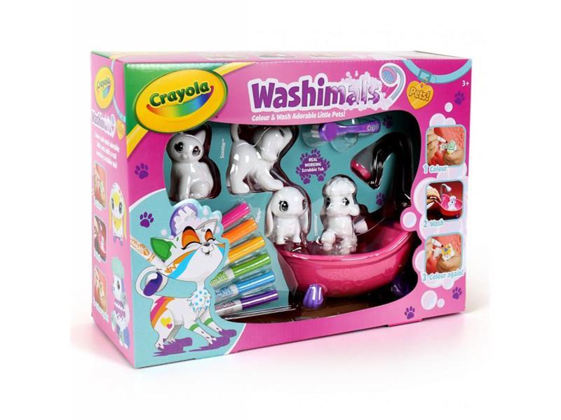 Zvířátka Crayola Washimals box