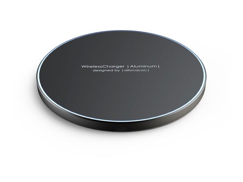 Nabíjačka Allocacoc Wireless Charger Aluminium bezdrôtová