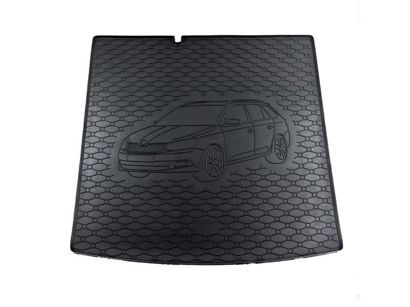 Vaňa do kufra gumová RIGUM Škoda Fabia III Combi 2014 dolnej dno