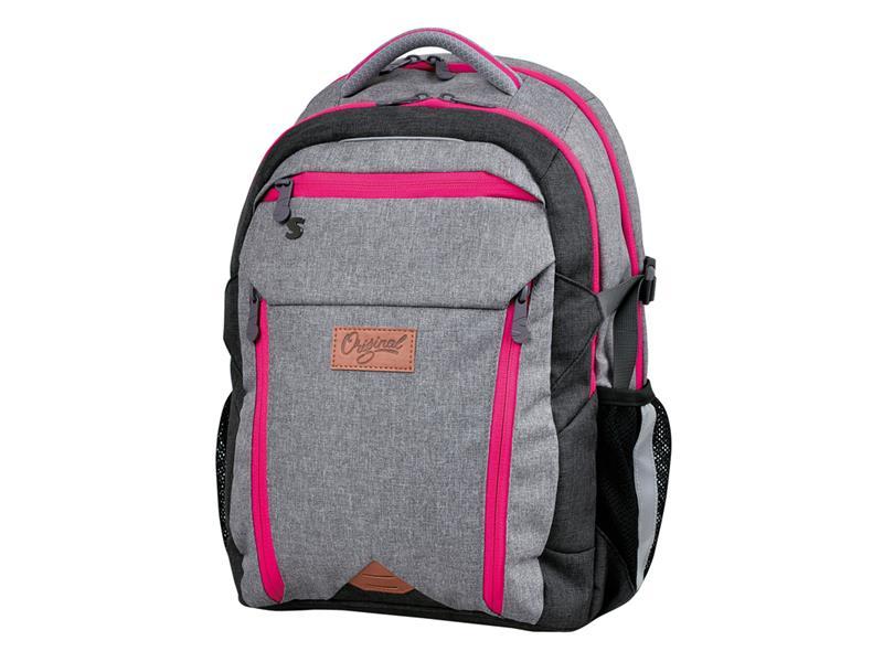 Batoh študentský Original pink STIL