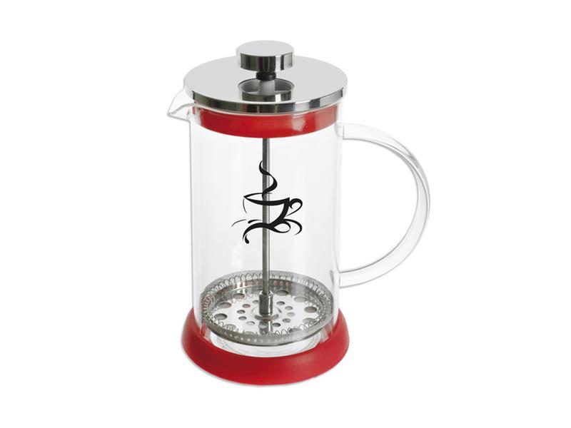 Kanvica na čaj ORION KAFETIER 0.35l red