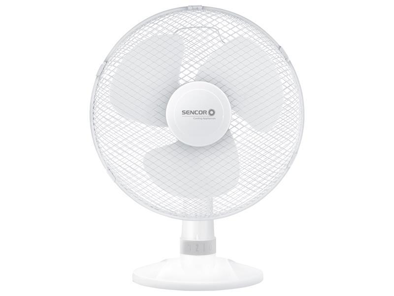 Ventilátor stolný Sencor SFE-3027WH