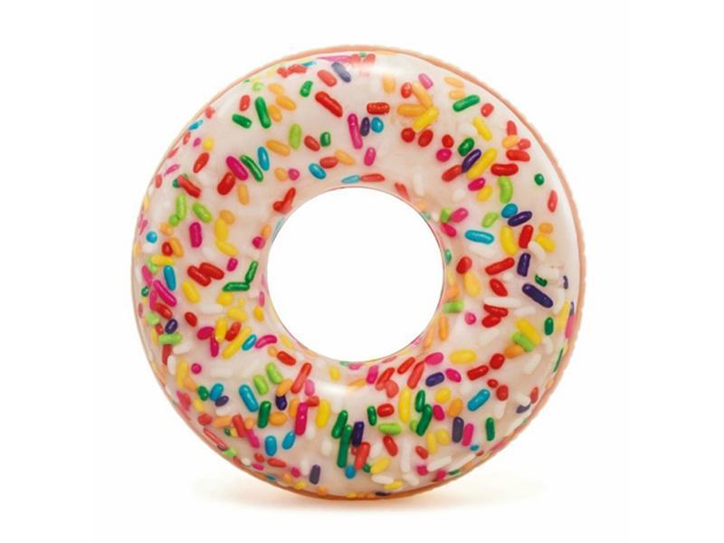 Kruh nafukovacie INTEX Donut s posypom 114cm