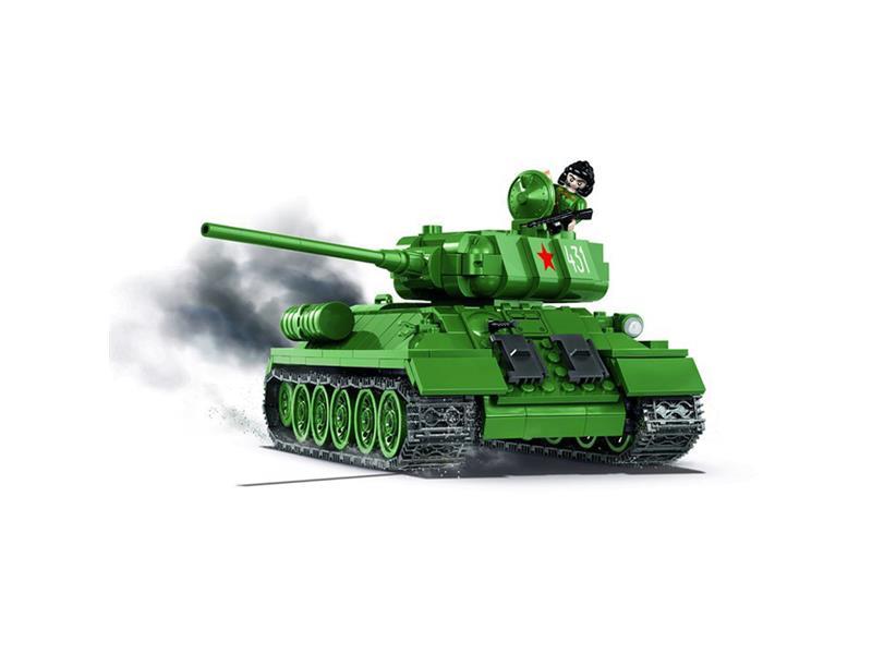 Stavebnice Cobi 2476 Small Army II WW Tank T-34/85 m 1944