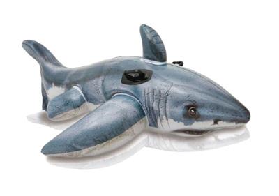 Detské ležadlo TEDDIES žralok 173x107cm