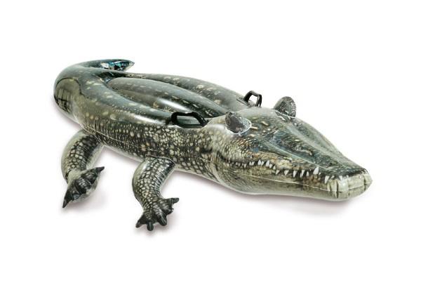 Detské ležadlo TEDDIES krokodíl 170x86cm