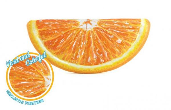 Detské ležadlo TEDDIES pomaranč 178x85cm