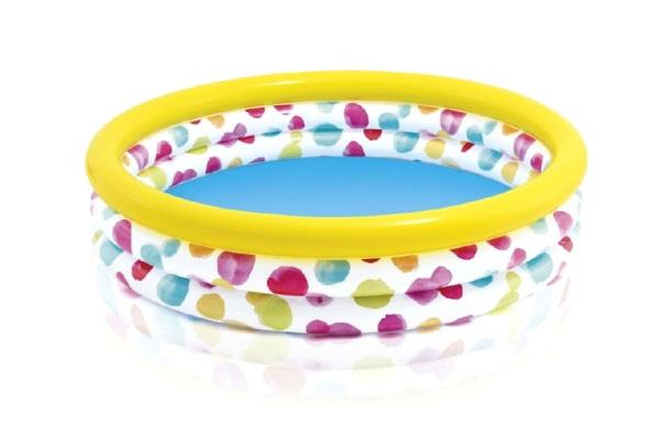 Bazén INTEX s bodkami 147 x 33 cm