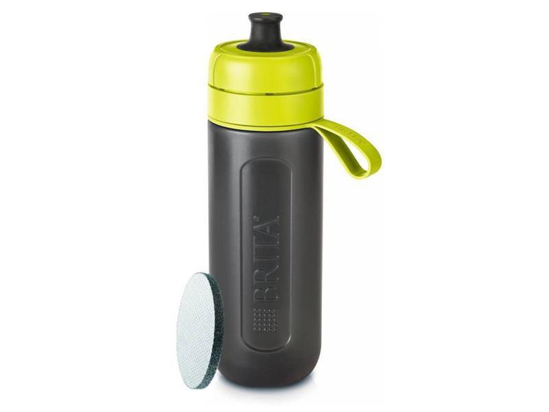Fľaša filtračné BRITA FILL & GO ACTIVE LIME + ZADARMO filter MICRODISC