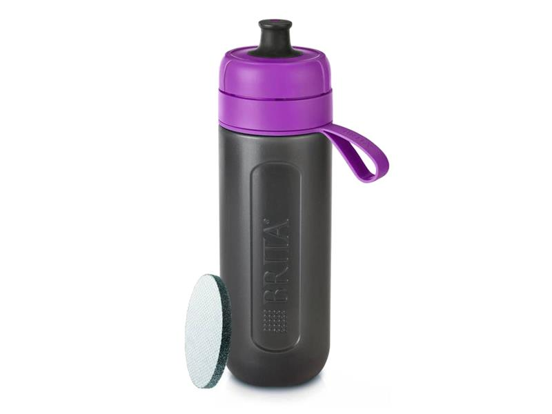 Fľaša filtračné BRITA FILL & GO ACTIVE PURPLE + ZADARMO filter MICRODISC
