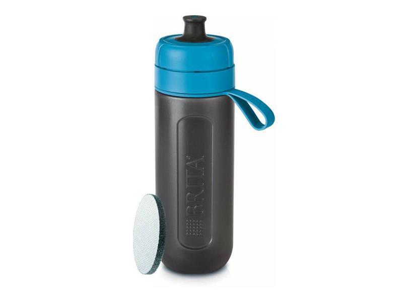 Fľaša filtračné BRITA FILL & GO ACTIVE BLUE + ZADARMO filter MICRODISC