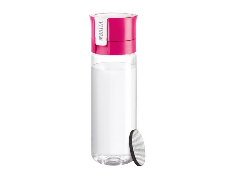 Fľaša filtračné BRITA FILL & GO VITAL PINK + ZADARMO filter MICRODISC