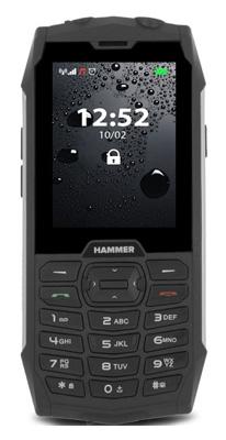 Telefón MYPHONE HAMMER 4 SILVER