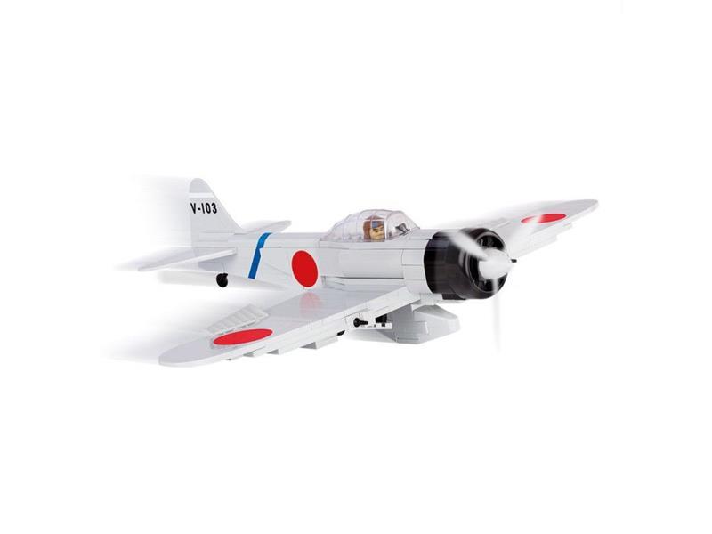 Stavebnice Cobi 5515 Small Army Mitsubishi A6M2 Zero