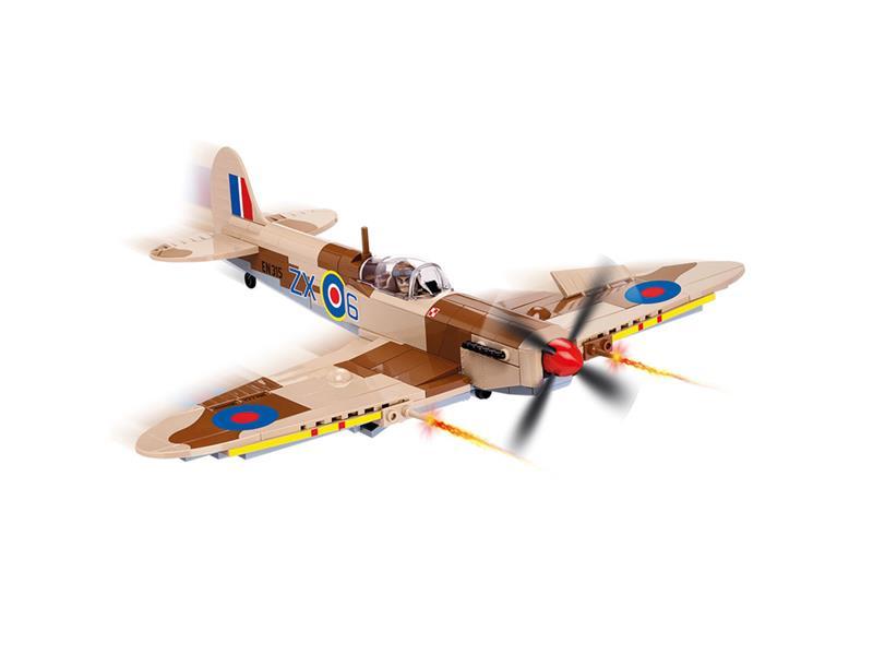 Stavebnica COBI 5525 Small Army Supermarine Spitfire Mk.IX 280 k 1 f