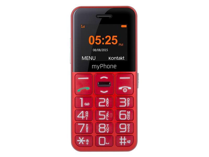 Telefón MYPHONE HALO EASY SENIOR RED