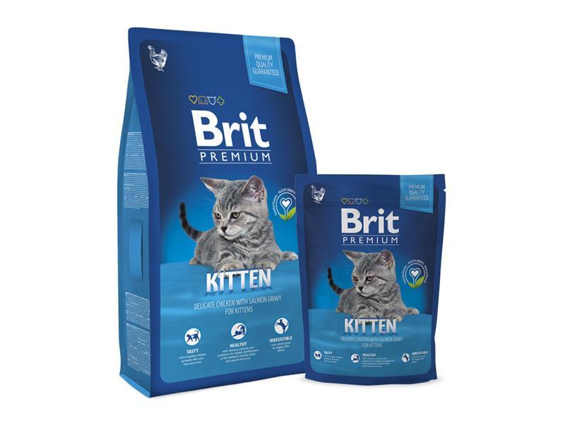 Granule BRIT PREMIUM CAT KITTEN PREMIUM 8 kg