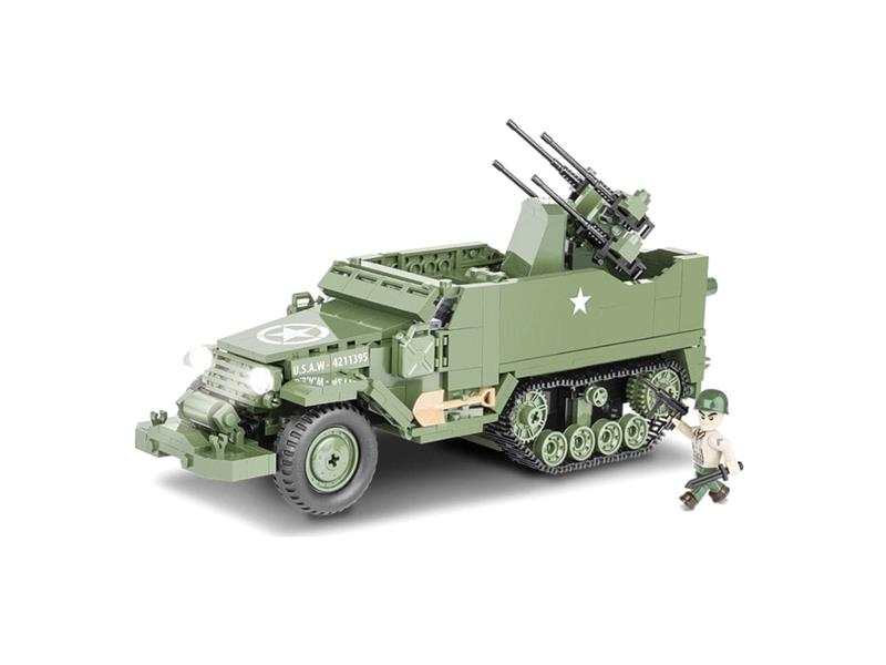 Stavebnice Cobi 2499 Small Army M16 Half-track