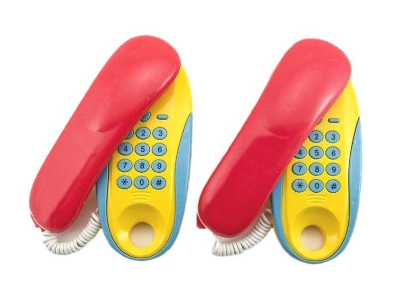 Detské telefóny TEDDIES 2ks