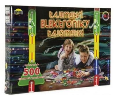 Elektronická stavebnica DROMADER Tajomstvo elektroniky 500 experimentov