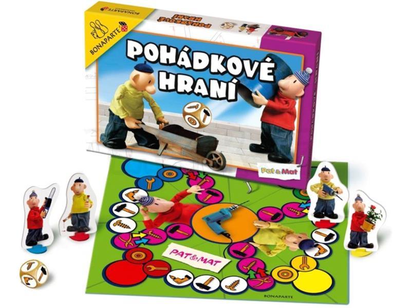 Hra stolná BONAPARTE Rozprávkové hranie Pat a Mat