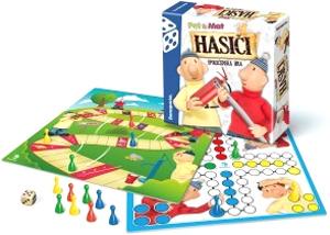 Hra stolná BONAPARTE Hasiči Pat a Mat